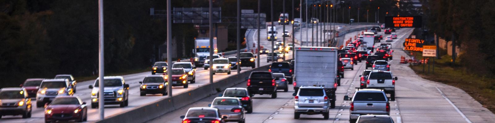 Highway traffic – Jacksonville, Florida